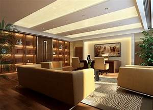 Modern Luxury Office Modern Chinese Style CEO Office ...
