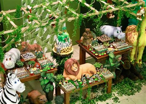 Jungle Theme Birthday Party, Jungle Birthday Party Ideas