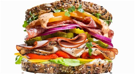 stacked healthy muscle sandwiches muscle fitness