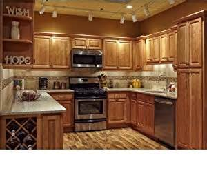 amazon kitchen furniture amazon com all wood 10x10 kitchen cabinets maple honey wall mounted cabinets