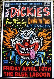 Dickies music event art poster · Jimbo Phillips webstore ...