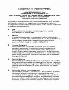 Political Science Research Proposal Example Future Technology Essay