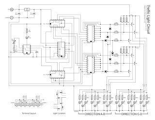 Wiring Diagram For Traffic Light Controller Circuit
