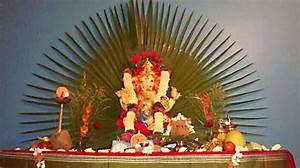 Ganpati Decoration Ideas for Home | The Royale