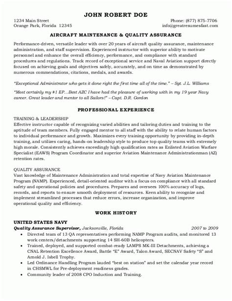 sle resumes federal resume or government resume