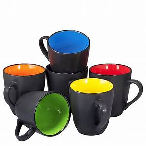 Coffee, Mug, Set, Set, Of, 6, Large