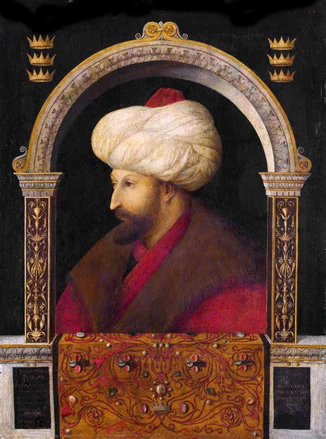 Souverain Ottoman by Portrait De Mehmed Ii Wikip 233 Dia