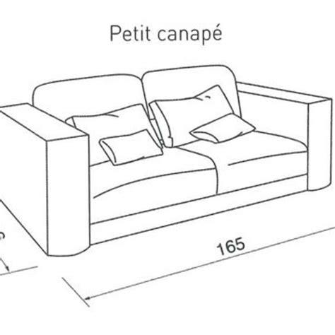 dimensions canape 2 places quelle taille pour mon canap 233 c 244 t 233 maison