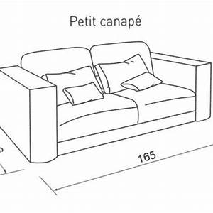 Canape lit dimension royal sofa idee de canape et for Dimension canapé lit