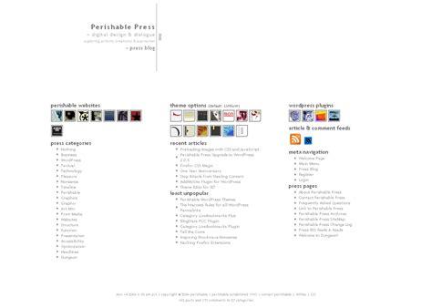 Minimalist Themes Minimalist Theme Perishable Press