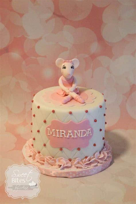 angelina ballerina cake mia se ste verjaar pinterest