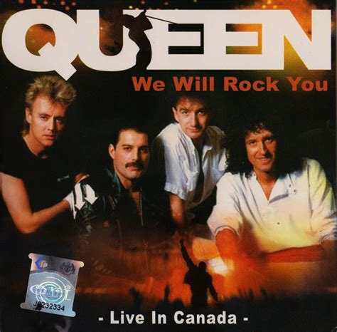 Queen  We Will Rock You  Live In Canada (cd, Unofficial Release) Discogs