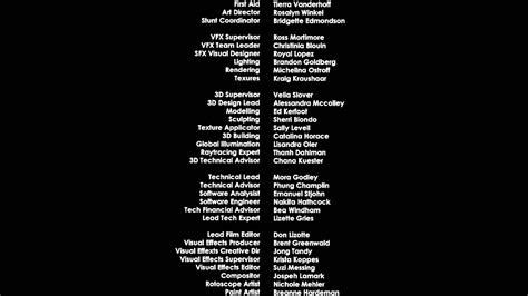 Tv Credits Template by Credit Roll Adobe Premiere Pro After Effects 60fps