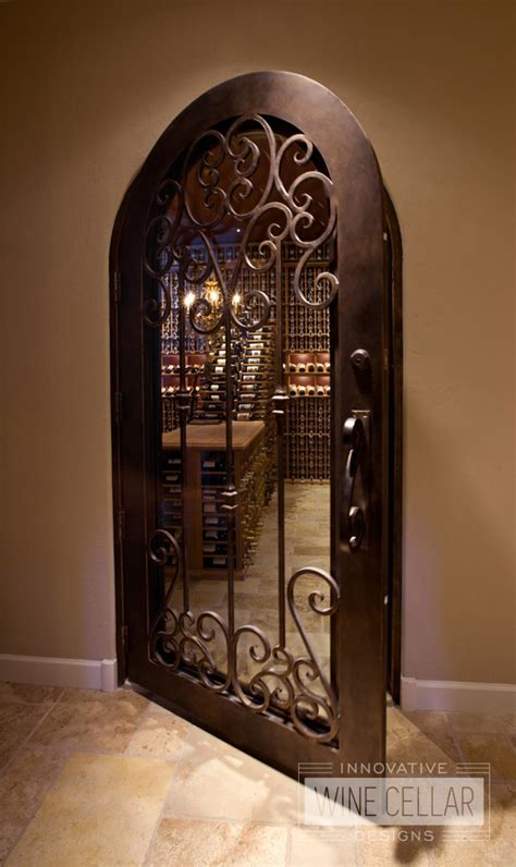 custom wine cellar doors innovative wine cellar designs