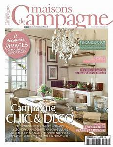 magazine deco maison de campagne ciabizcom With magazine de decoration maison