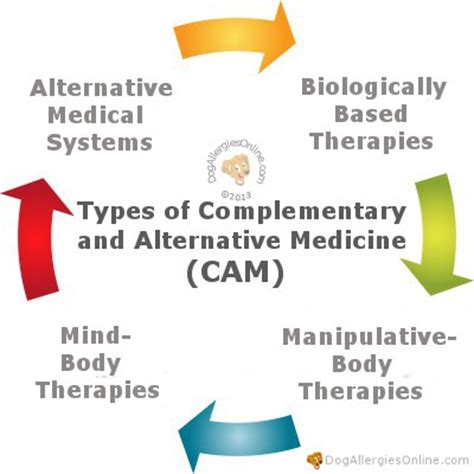 types of complementary and alternative medicine