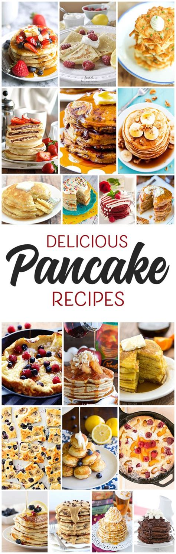delicious pancake recipes yummy pancake recipes for every occasion landeelu com