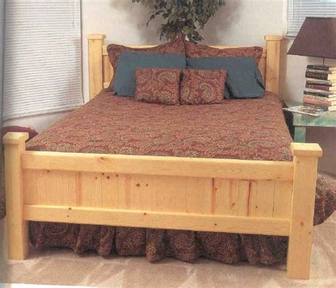 furniture plans bed woodworker magazine