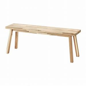 SKOGSTA Bench Acacia 120 cm - IKEA