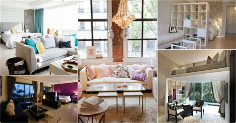 Stylish Small Studio Apartments Decorations That You