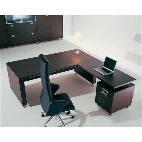bureau avec retour pas cher bureau direction bureau de direction en bois prestige