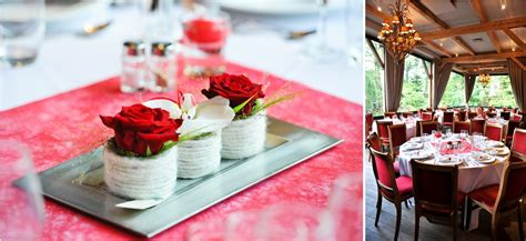 deco mariage champetre rouge