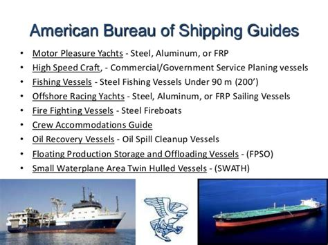 abs bureau of shipping classification society