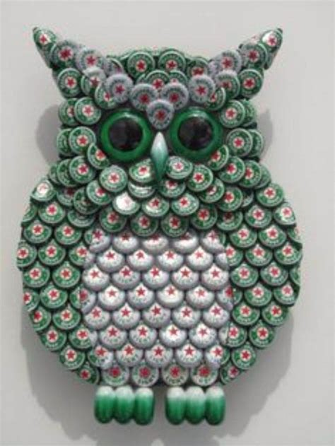 55 Creative Bottle Cap Craft Ideas (DIY Recycle Projects