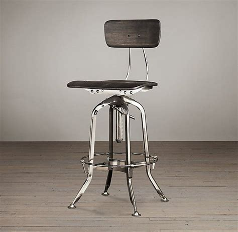 vintage toledo bar chair polished chrome 1000 images about bar stools on