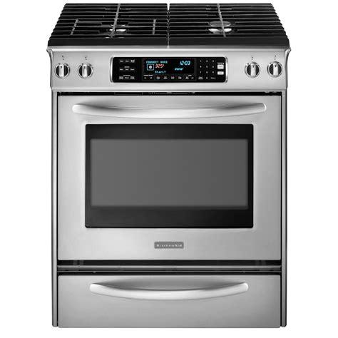 kitchenaid range kitchenaid 30 dual fuel range silver