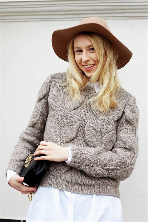 designer pullover mit zopfmuster stricken komplette anleitung