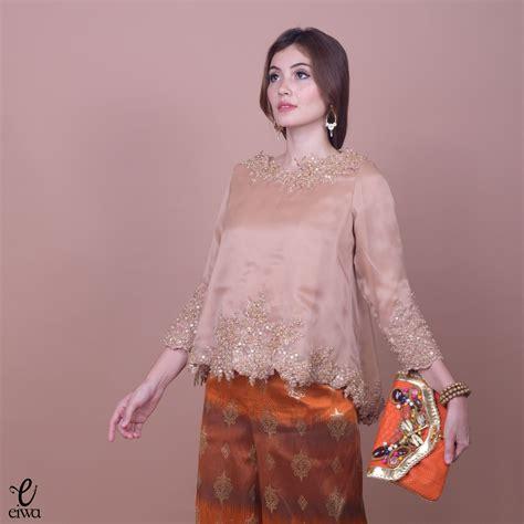 kebaya indonesia modern high low hi low lace brokat organdi organdy organza embellished