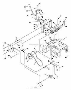 Bunton  Bobcat  Ryan 634010a 48 U0026quot  Fixed Deck 15hp Gear