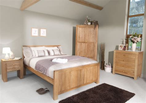 oakdale solid oak furniture range oak bedroom furniture