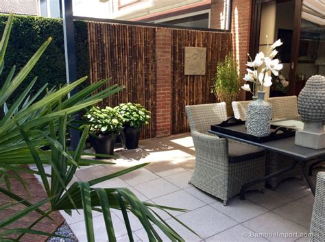 Our reed fences are another attractive alternative to bamboo. 12 Bamboo Wall Cladding and Decoration Ideas | Bamboo wall, Wall cladding, Bamboo fence
