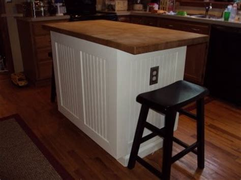 wainscoting kitchen island bead board wainscoting kitchen island breakfast bar diy furniture fix ups pinterest a
