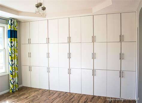 craft room storage cabinets craft room built in storage by infarrantly creative