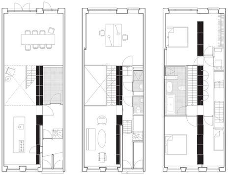 plano de hermoso departamento moderno de  dormitorios
