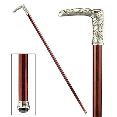 decorative canes decorative 90 degree solid pewter handle hardwood gentleman s walking stick cane 139 95