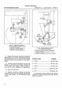 Free Parts Linkage Manual Electrical Series Ford Backhoe Power Ferguson Diagram Hydraulic Loader