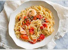 Pasta Pomodoro with Shrimp Recipe SimplyRecipescom