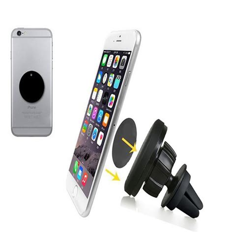 car phone stand 360 degrees rotating magnetic car phone holder magnets