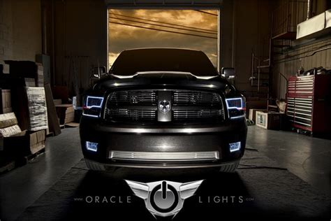 oracle halo lights for dodge ram 2009 2016 dodge ram
