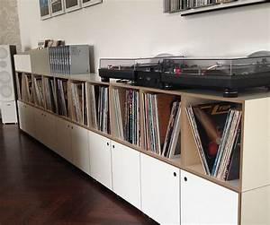 Regal Für Schallplatten : schallplatten aufbewahrung idee wohn design ~ Orissabook.com Haus und Dekorationen