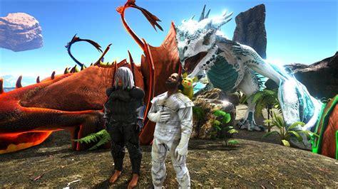 ark survival evolved   tham quan cong vien