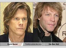 Kevin Bacon and Jon Bon Jovi Doppelgangers! Pinterest