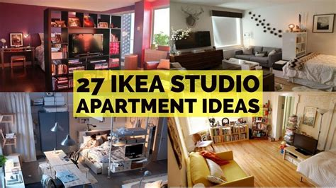27 ikea studio apartment ideas youtube