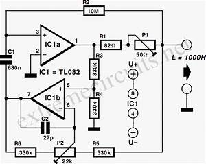 1kh synthetic inductor circuit diagram With what is an inductor build electronic circuits
