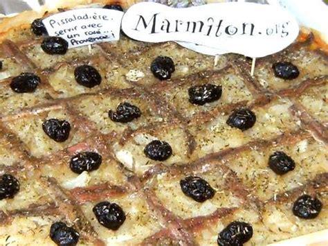 cuisine marseillaise recettes pissaladière provençale d 39 une marseillaise recette