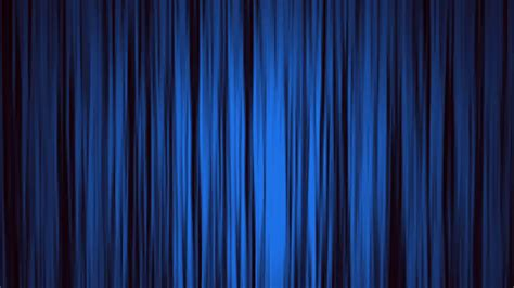 Blue Draperies - blue curtains open to reveal a green screen motion